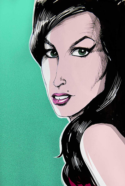 Ilustraciones - Amy Winehouse